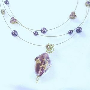 The Purple Pomegranate Jewelry - Amethyst,  Purple Universe